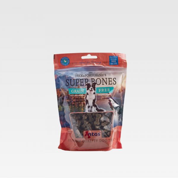 Dog Training Reward Treat Super Bones Duck & Pomegranate