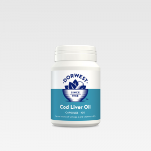 Supple Joints & Skin For Pets Dorwest Cod Liver Oil
