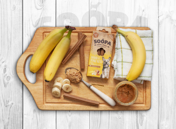 Soopa Banana And Peanut Butter Table Top