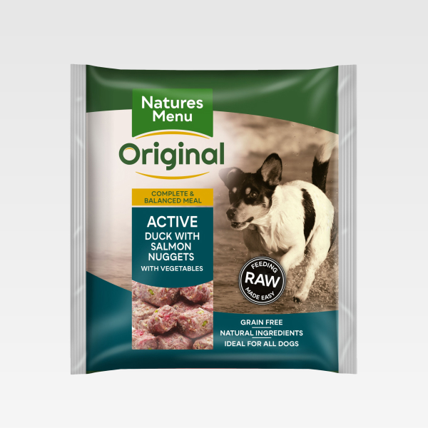 Natures Menu Nuggets Active Duck With Salmon
