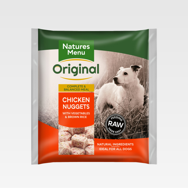 Natures Menu Nuggets Chicken FOP