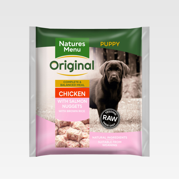 Natures Menu Nuggets Puppy Chicken FOP