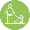 Dog Walks Green